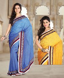 Picture of Grey Jacquard Saree